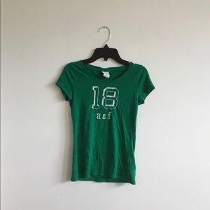 Abercrombie Kids Green 18 Tee/ Size L